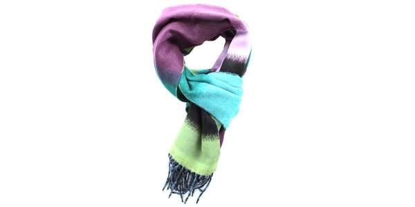 Dámsky farebný šál Fraas