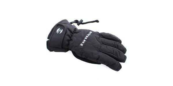 Dámske čierne lyžiarske rukavice Envy