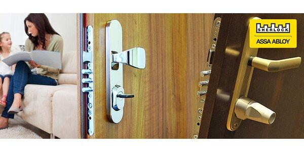 Zľava na bezpečnostné dvere Sherlock