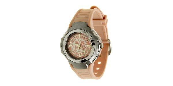 Dámske ružové hodinky Mustang so silikonovým remienkom 3d07ff3842