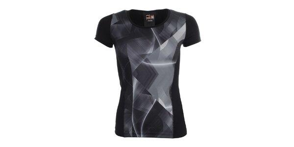 Dámske vzorované fitness tričko Puma