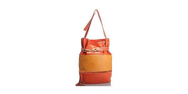 Dámska oranžovo-žltá kabelka Belle&Bloom