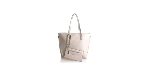 Dámska svetlo béžová kabelka Belle & Bloom