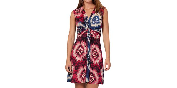 Dámske vzorované šaty bez rukávov Peace&Love