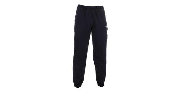 Pánske tmavo modré športové nohavice Puma