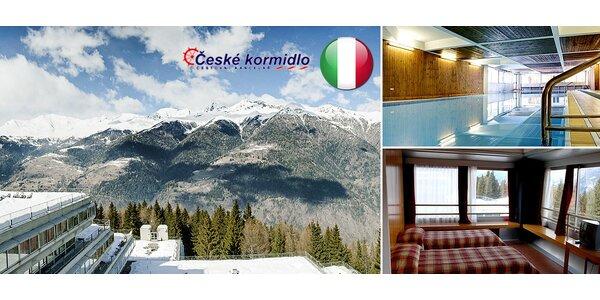 Ubytovanie*** na svahoch v Taliansku + skipas