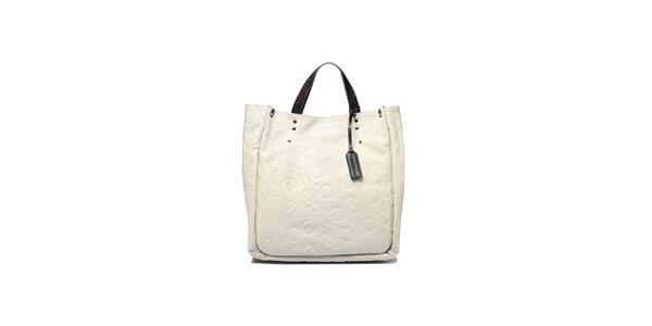 Dámska krémová kabelka Belle & Bloom