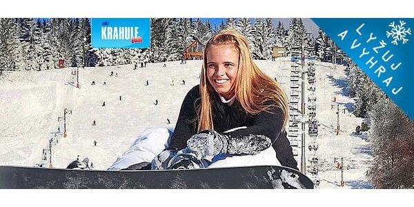Apartmány pri lyžiarskom stredisku Krahule + skipasy
