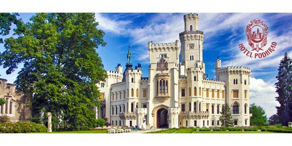 Luxusná dovolenka PRE DVOCH v Hlbokej nad Vltavou