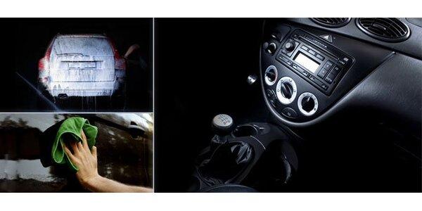 Ručné umytie auta s ošetrením prístrojovej dosky