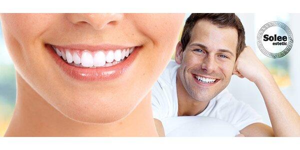 Šetrné bielenie zubov bez peroxidu