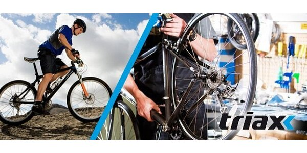 Predsezónny servis bicykla