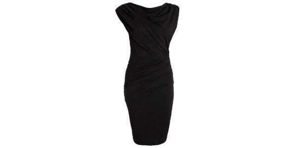 Dámske čierne šaty s vodou CeMe London