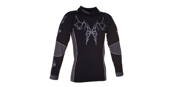 Pánske čierne funkčné tričko Envy