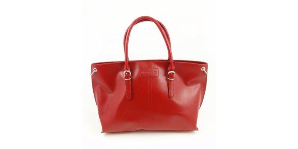 Dámska sýto červená kabelka Hippyssidy