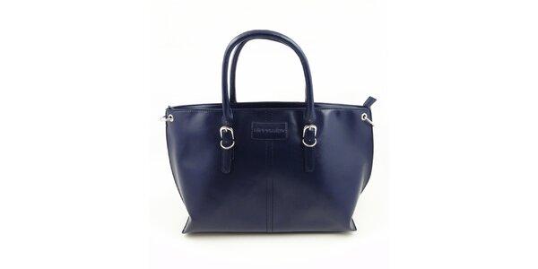 Dámska tmavo modrá kabelka Hippyssidy