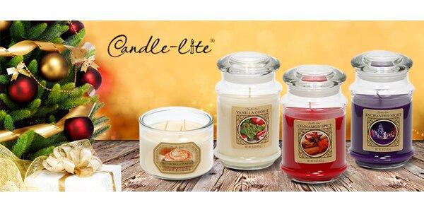 Originálne sviečky s vianočnou vôňou Candle Lite