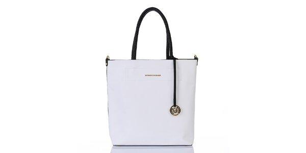 Dámska biela kabelka s vnútornou taštičkou Giorgio di Mare