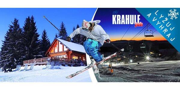 3 dňový pobyt s lyžovačkou