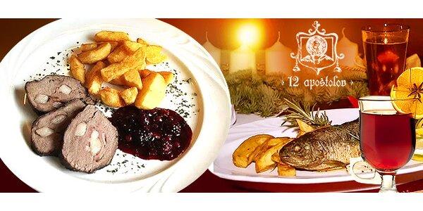 Vianočné menu v Reštaurácii u 12 apoštolov