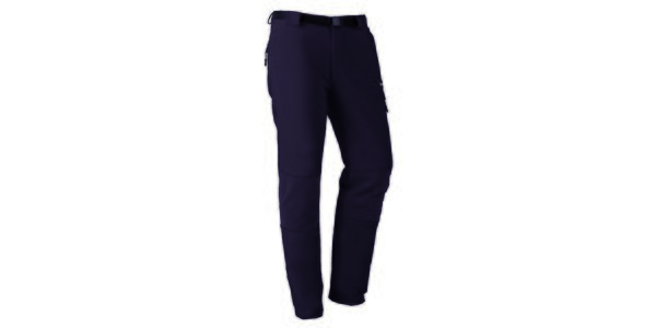 Pánske čierne funkčné nohavice Izas