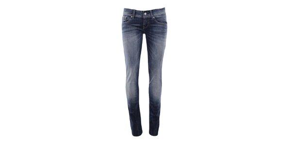 Dámske úzke džínsy v modrom odtieni Big Star