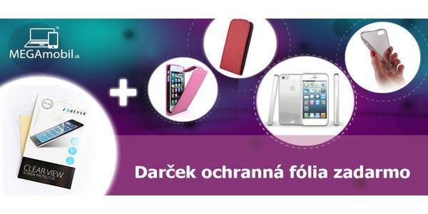 Štýlové púzdra pre iPhone + darček ochranná fólia zdarma