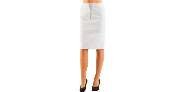 Dámska biela púzdrová sukňa Calvin Klein