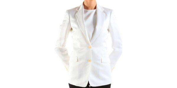 Dámske biele sako Calvin Klein