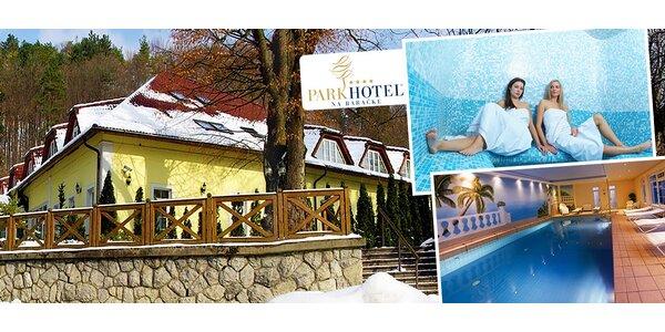 Luxusný wellness pobyt v obľúbenom Parkhoteli**** na Baračke