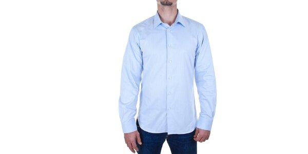 Pánska svetlo modrá košeľa Calvin Klein