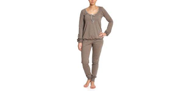 Dámske vzorované pyžamo Vive Maria