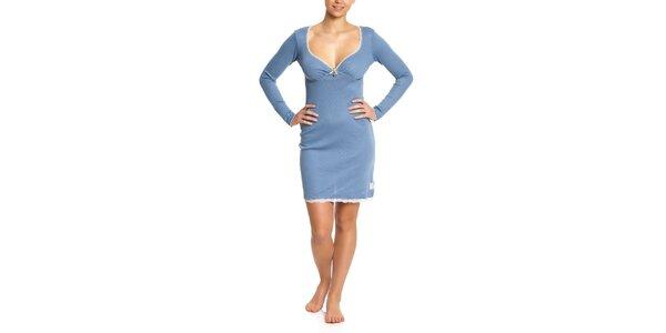 Dámska modrá nočná košeľa Vive Maria
