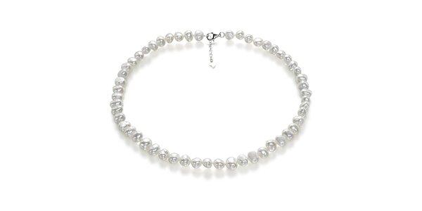 Dámsky perlový náhrdelník