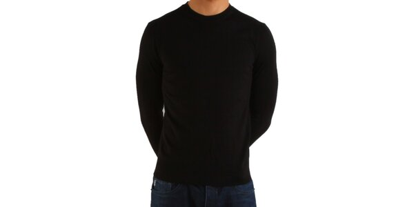Pánsky čierny sveter Calvin Klein