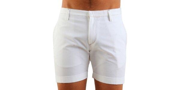Pánske biele šortky Calvin Klein