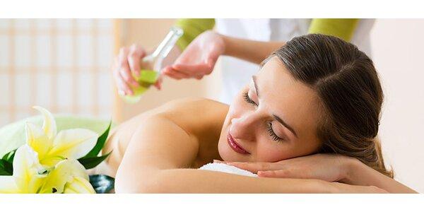 Klasická masáž, rašelinový zábal, kyslíková terapia