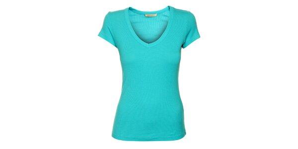Dámske tyrkysové tričko Phard s krátkym rukávom