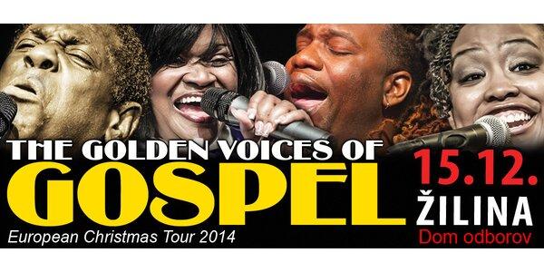 """Vianočný koncert """"Zlaté hlasy gospelu"""""""