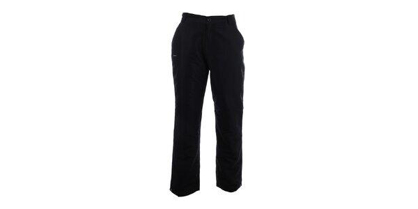 Pánske čierne zateplené nohavice Envy