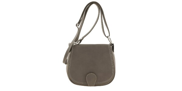 Dámska krémová menšia kabelka cez rameno Ore 13