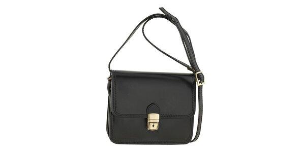 Dámska čierna kabelka cez rameno Ore 10