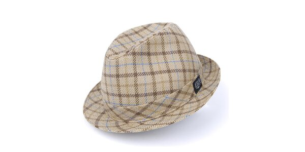 Pánsky béžový klobúk Chico