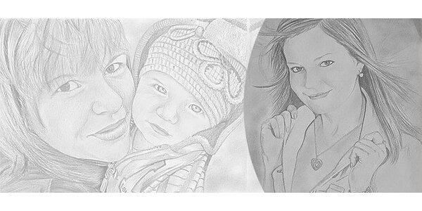 Portrét z fotografie veľkosť A3, A4, A5
