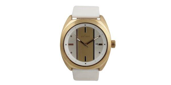 Dámske biele analógové hodinky Axcent