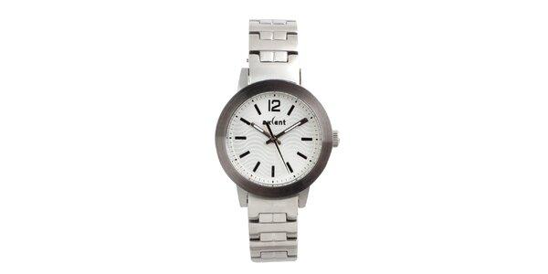 Dámske oceľové hodinky v striebornej farbe Axcent