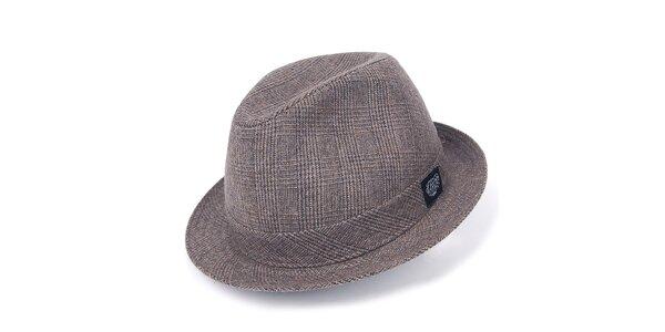 Pánsky hnedý klobúk Chico