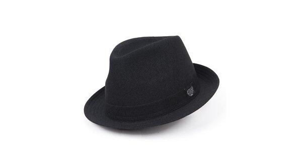 Pánsky čierny klobúk Chico