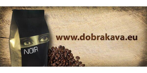 2 kg kvalitnej zrnkovej kávy Café NOIR