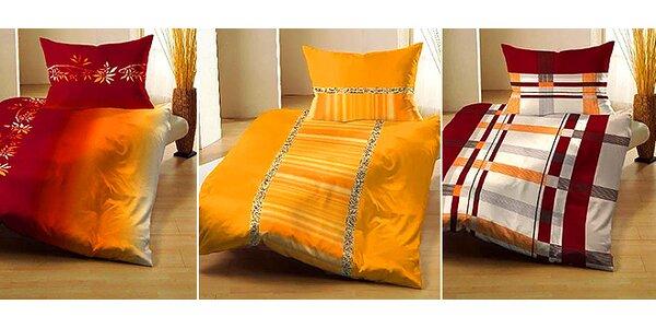 Posteľné obliečky z pohodlného mikrosaténu